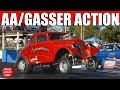 ScottRods AA/Gassers Nostalgia Drag Racing Video Backup Girls Keystone Raceway Park