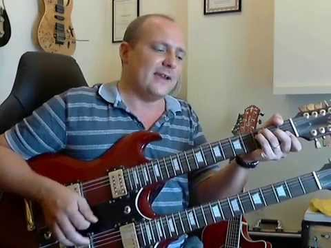 How to play Different Shades of Blue - Joe Bonamassa - Guitar Lesson