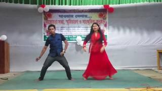 Mon vasaiya/মন ভাসাইয়া dance by Dhriti & Khokon