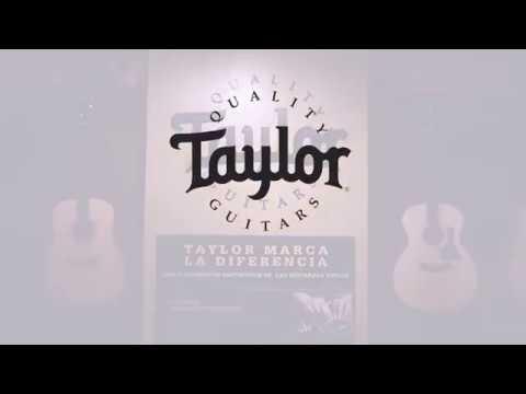 Taylor Showroom en Guitar Gear CDMX