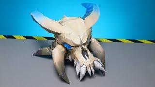 Ragnarok Maske aus Fortnite mit Papier selber machen - DiY