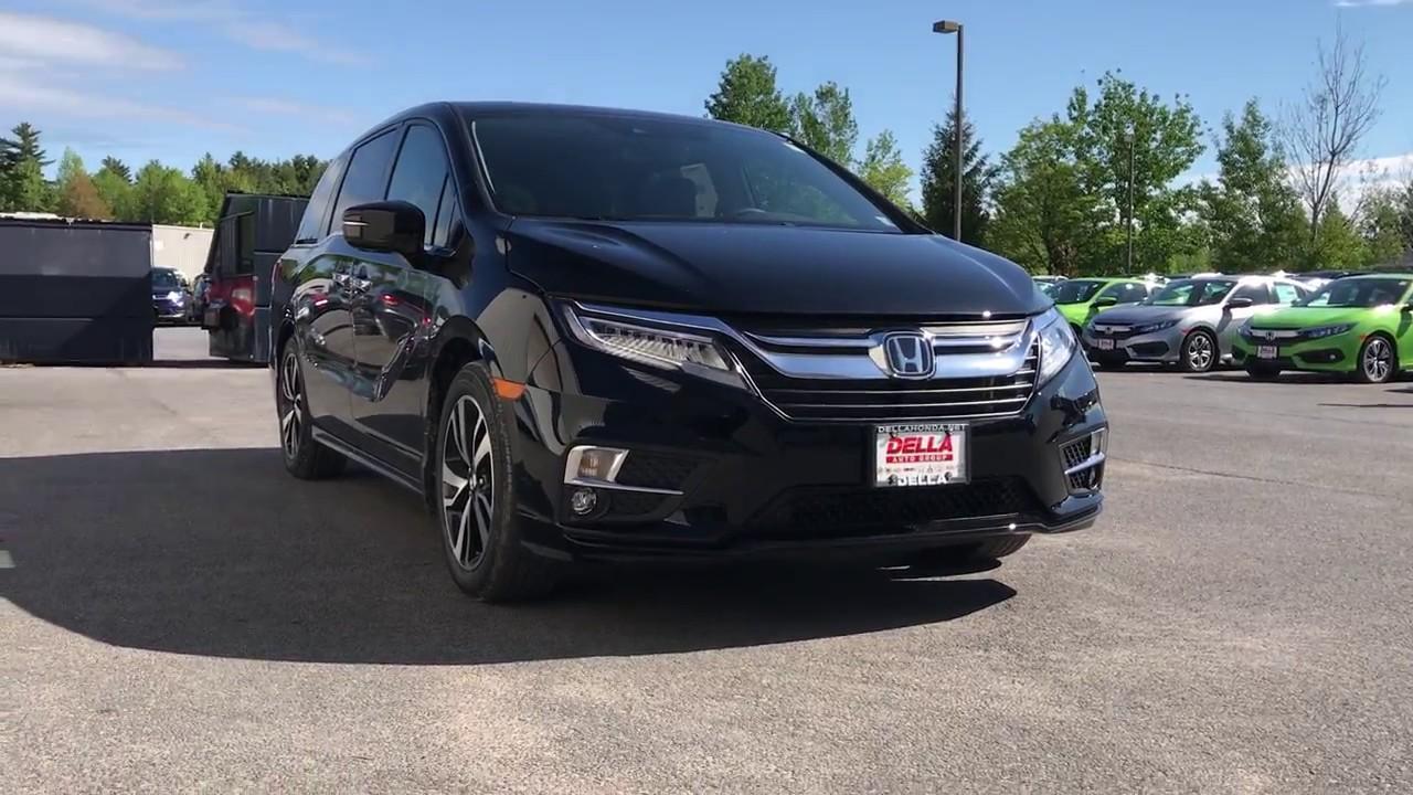 Della Honda Plattsburgh >> 2018 Honda Odyssey Engine, Honda vac, fuel filler, foot activated tailgate, active shutter ...