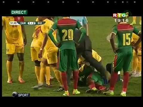 Cameroun - Guinée (2nd Mi-temps)