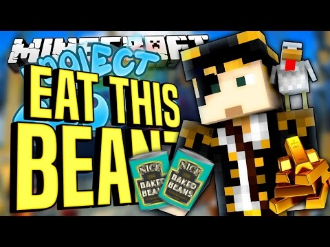 Minecraft - EAT THIS BEANZ - Project Ozone #57 : Yogscast