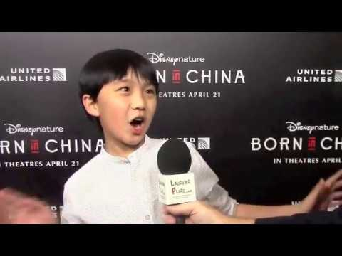 Ian Chen at the Born in China Premiere