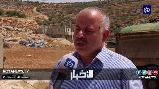 سكان من قرية بيت دجن في نابلس يواجهون خطر فقدان أراضيهم ومنازلهم - (6-7-2018)