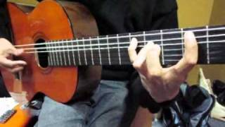 WALTER LOZADA 21 Curso de guitarra peruana / Solo del tema