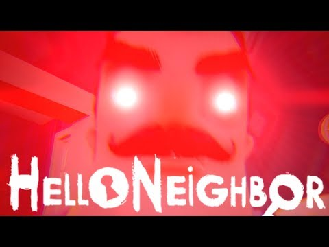 -Hello Neighbor- 搞笑怕鬼的Roy勇於嘗試恐怖游戲?【你好 邻居】