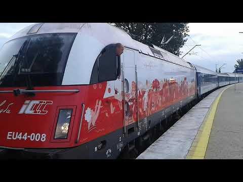 EN 407 CHOPIN rusza ze stacji początkowej.