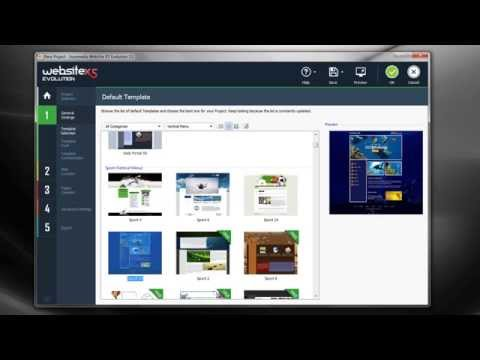 Create a website with WebSite X5 v11 - Video Tutorial