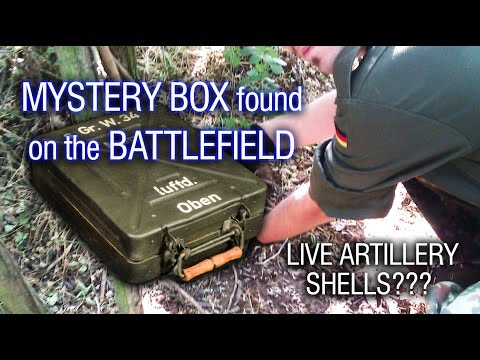 Thumbnail: MYSTERY BOX found in trench on WWII BATTLEFIELD