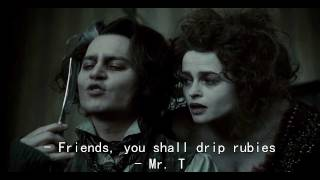 Sweeney Todd - My Friends with Lyrics [Johnny Depp & Helena Bonham Carter]