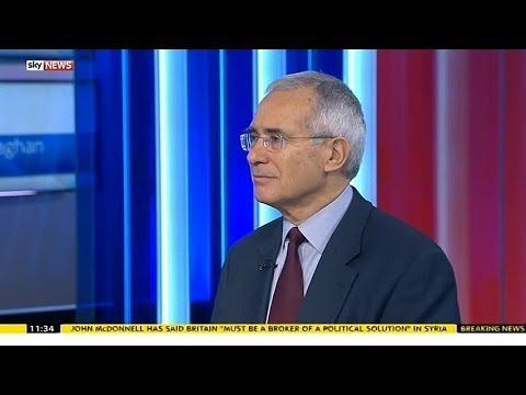 Fmr Govt Climate Change Adviser Lord Stern On COP21 Paris Summit
