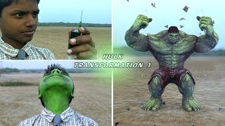 The Hulk Transformation Episode 1 | Hulk Smash | A Short Film VFX Test
