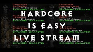 Diablo 2 HARDCORE Martial Arts Assassin - p8 Challenge (ep02)