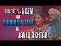 A beautiful nazm on Shabana Azmi by Javed Akhtar at Jashn-e-Rekhta 2016 Whatsapp Status Video Download Free