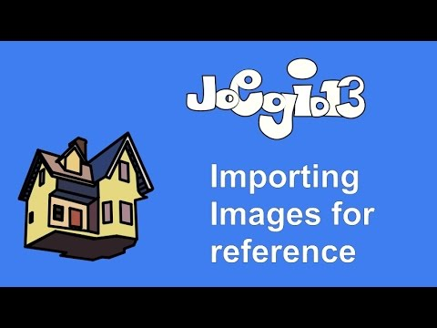 Moho 12 Beginner's guide - Importing Images for reference