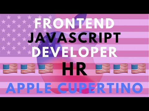 🇺🇸Собеседование с HR в APPLE - Frontend JavaScript Developer. Релокация в США Купертино 25.10.2019