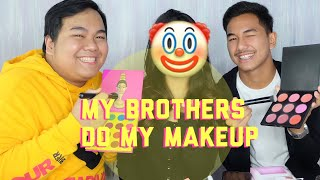 My Brothers Do My Makeup - Abel Cantika