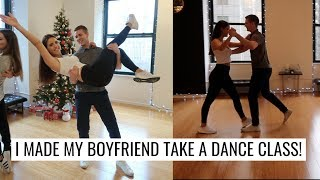 VLOG: DANCE CLASS IN NYC! | Fred Astaire Dance Studio | Molly J Curley