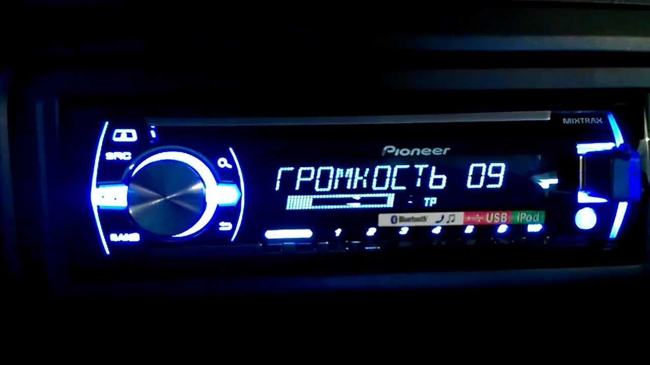 Обзор Pioneer DEH-1800UB (комплектация) - YouTube