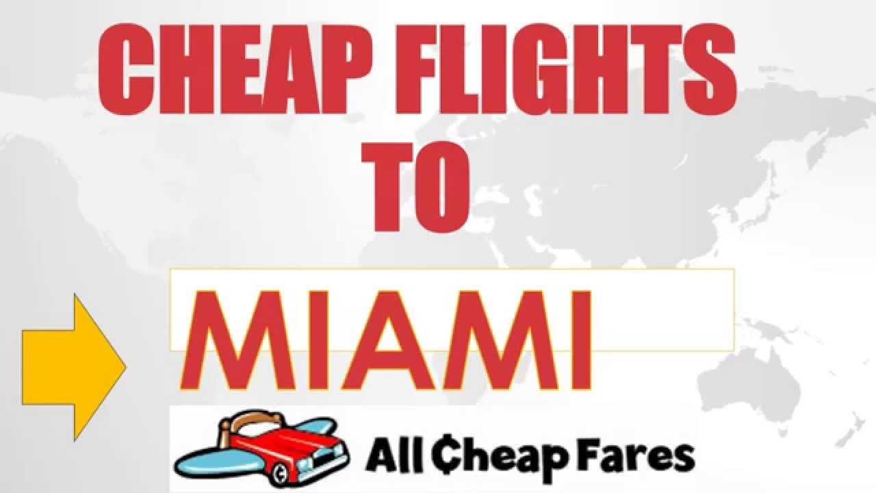 Cheap plane tickets from atlanta to miami