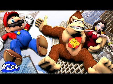 SMG4: Mario VS Donkey Kong