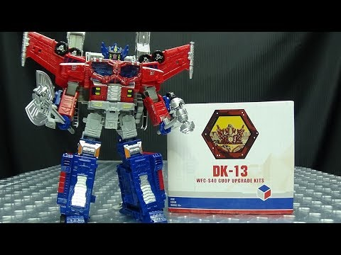DNA Design Galaxy Ugrade Optimus Prime UPGRADE KIT: EmGo's Transformers Reviews N' Stuff