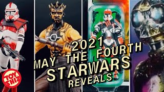 2021 MAY THE 4th BE WITH YOU! Starwars Day Reveals