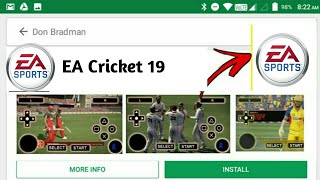 🔥EA Cricket 19 A Brand New Cricket Game With Ultra HD Graphics✌ With Real Faces and Live Audience
