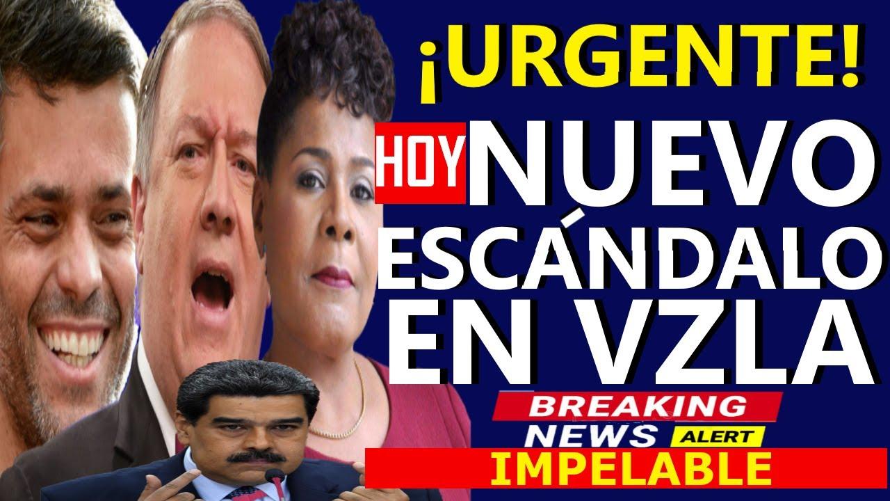 🔴HACE 5 MINUTOS, NUEVO ESCANDALO DE MADURO - LEOPOLDO HOY - MIKE POMPEO - TRINIDAD Y TOBAGO ANUNCIA