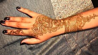 How To Make Easy Bridal Henna Mehndi Designs By Munni || Girls Beauty Henna