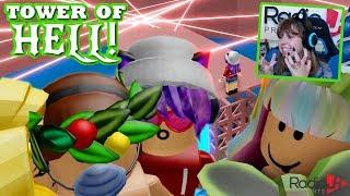 Raging in Roblox Tower of Hell! - RadioJH Games