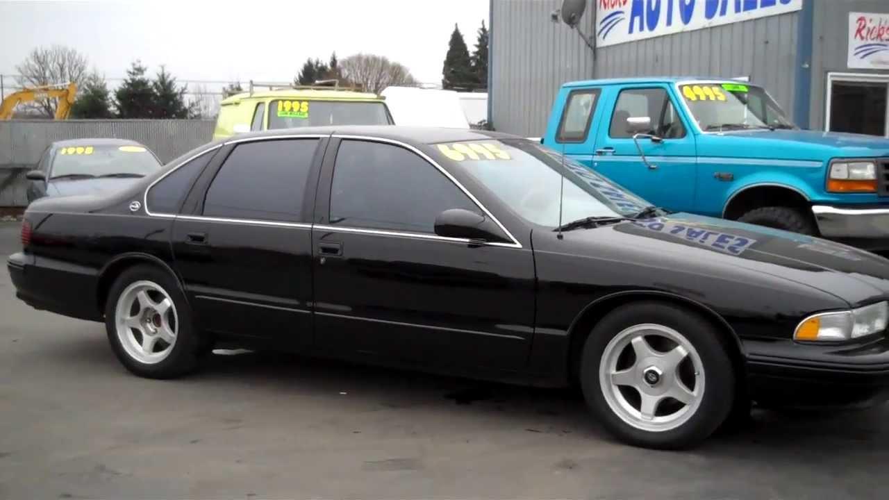 Ricks Auto Sales >> 1995 CHEVY IMPALA SS SOLD!! - YouTube