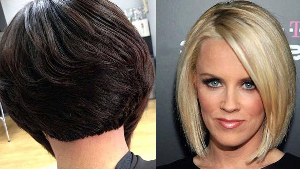 popular bob haircuts for round faces - round faces hairstyles for women | round face bob hair cut