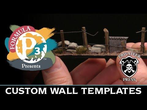 Formula P3 Presents: Custom Wall Templates