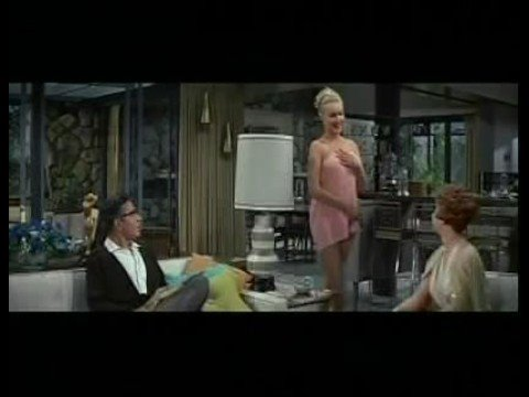 Julie Newmar in THE MARRIAGE GO ROUND  Towel