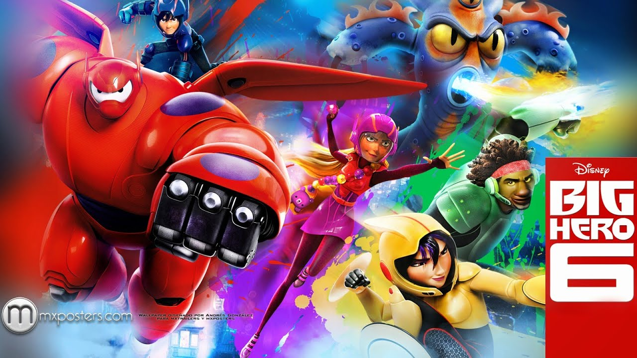 Operacao Big Hero 2014 Animacao Aventura Familia Trailer Dublado Youtube