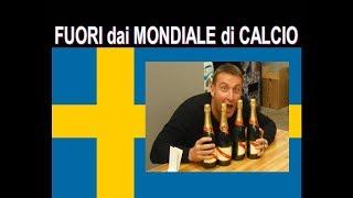 FUORI dai MONDIALI di CALCIO ! Tutti a casa : Italia 0 Svezia 0