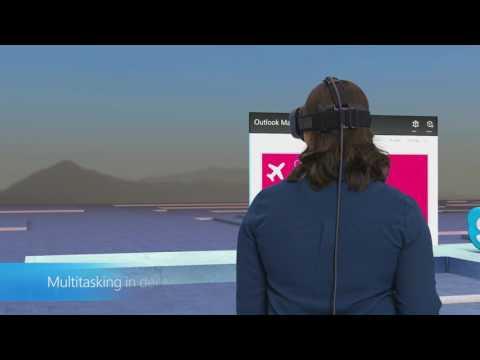 Windows Holographic Shell Demo | Microsoft
