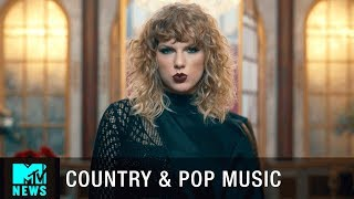 Beyoncé Turns Country & Taylor Swift Turns Pop | MTV News Desk Report