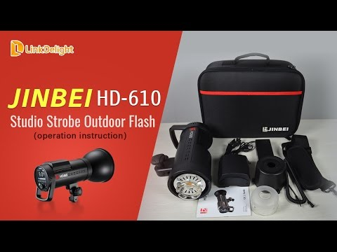 Jinbei HD610 600W TTL HSS Studio Strobe Outdoor Flash -- Linkdelight.com