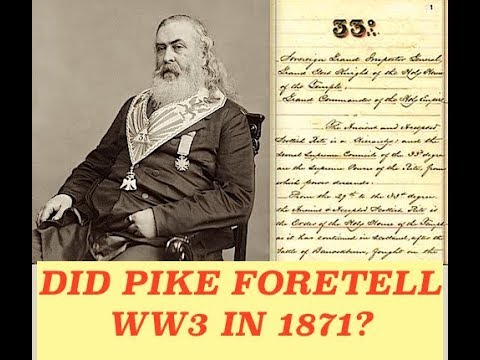 Did Albert Pike Really Consult with Lucifer & Foretell Three World Wars 150 Years Ago?!