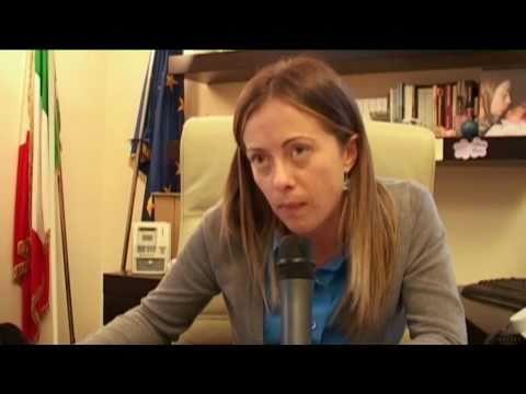 Intervista Al Ministro Giorgia Meloni Su Giovani E Stage
