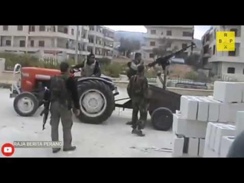 Download serangan balasan kembali terjadi pertempuran antara mujahidin vs pemerintah suriah