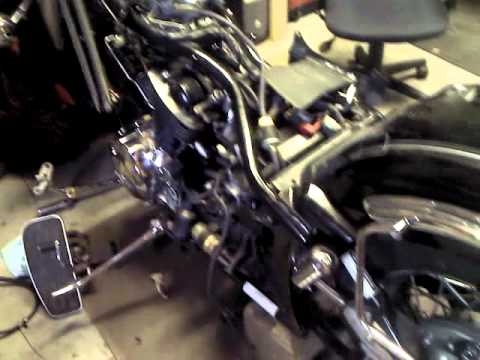 yamaha v star 1100 motor install Yamaha Roadstar Engine Diagram