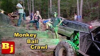 FAN RIDE at Windrock Off Road Park - EAST SIDE - 🍌MONKEY BALL CRAWL 🙈