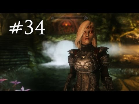 The Elder Scrolls V: Skyrim Gameplay (Modded) - Succubus Breton - Part 34