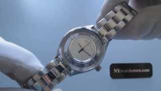 Women's Marc Jacobs Tether See Through Dial Watch MBM3416