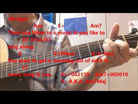 Guitar Man by Bread - Guitar Vocal Cover Lesson